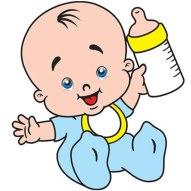 Resultado de imagem para bebe mamadeira desenho